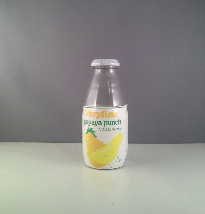 very-fine-papaya-punch-clear-beverages-bottle-1980-s-4